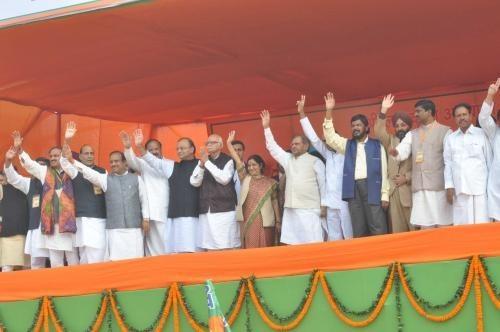 L. K. Advani and His NDA Allies