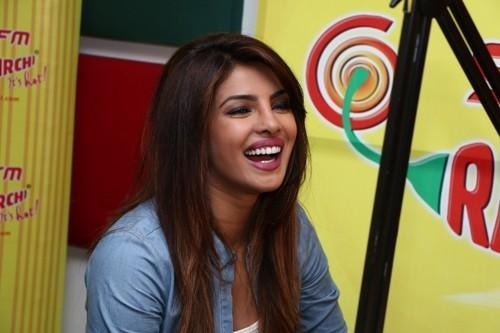 Priyanka Chopra at Radio Mirchi Mumbai