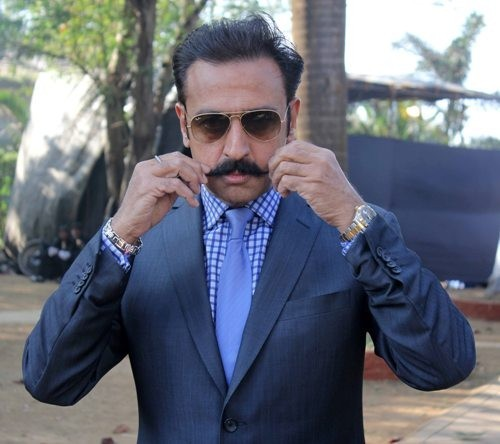 Gulshan Grover at Mid Day trophy  race event