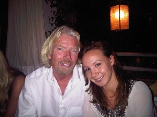 Autumn Radtke (R), the chief executive of First Meta was found dead in Singapore. Here are the top 5 things to know about her (Source Twitter)
