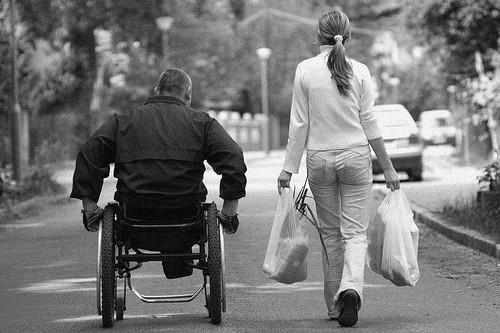 multiple sclerosis, wheelchair