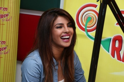 Priyanka Chopra at Radio Mirchi Mumbai