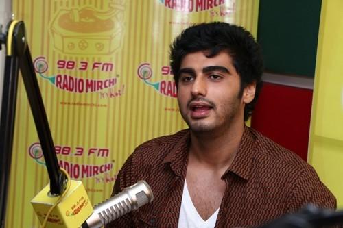 Arjun Kapoor at Radio Mirchi Mumbai