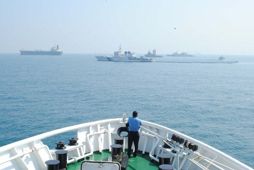 Crore Seized From Vessel Off Gujarat