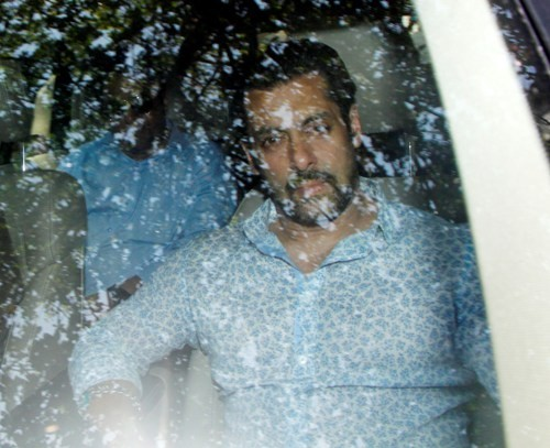 Salman Khan appears for the hearing of his 2002 hit and run case in Mumbai court