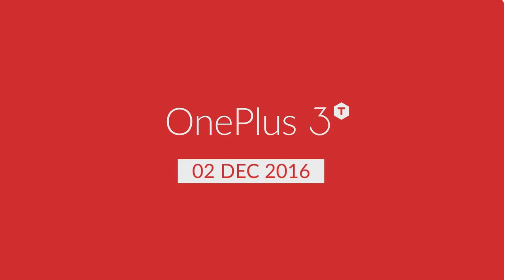 OnePlus 3T is coming to India on Dec. 2