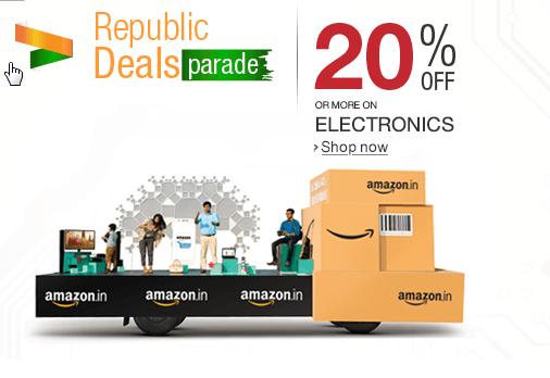 Amazon India Republic Day parade Sale