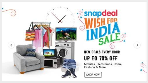 Snapdeal's Independence Day offers in India: Top deals on mobiles, electronics and more