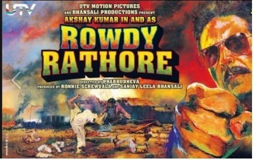 'Rowdy Rathore' movie poster