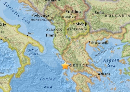 Greece eathquake