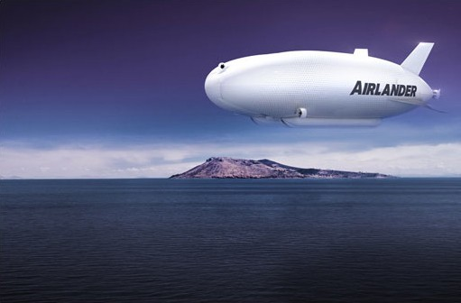 Airlander hybrid aircraft