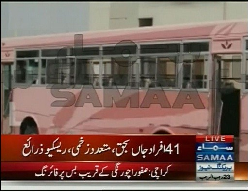 Karachi bus attack