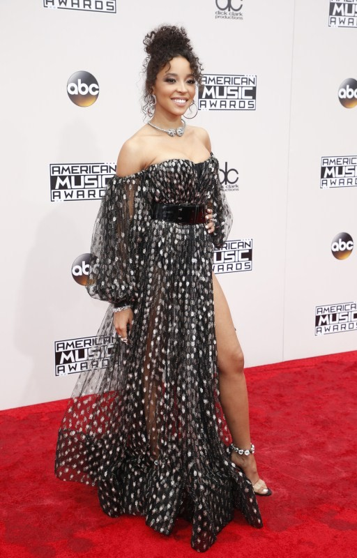 Worst dressed celebrities,Worst dressed celebrities of American Music Awards,American Music Awards,American Music Awards 2016,Singer Tinashe,Idina Menzel,Actress Keke Palmer,Model Karlie Kloss,Singer Halsey,Model Chrissy Teigen,Actress Olivia Munn,Hannah