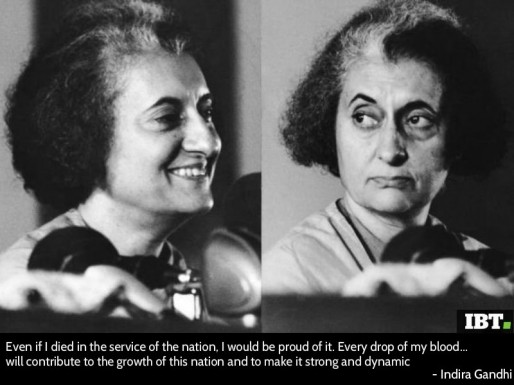Indira Gandhi was the Prime Minister of India from 1966 to 1977 and ...