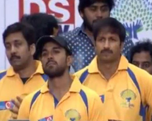 As the wicket-keeper, Ram Charan is performing well. He had a couple of good catches in the match