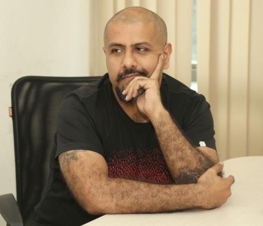 Singer Vishal Dadlani at IANS Office in New Delhi.