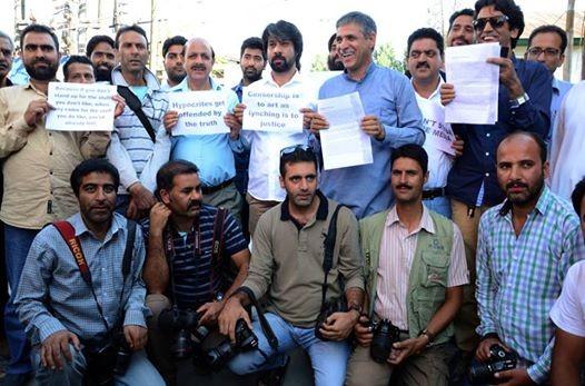 Kashmir media ban