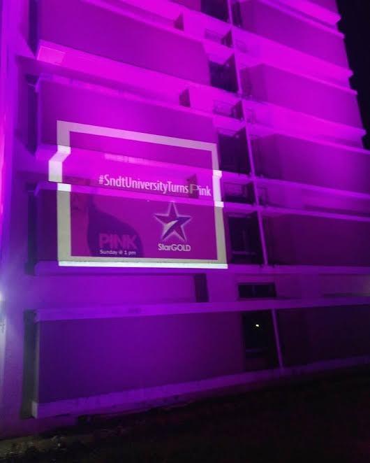 Amitabh Bachchan,Amitabh Bachchan house,PINK,PINK world television premiere,Big B's house, Jalsa, goes PINK,Amitabh Bachchan goes PINK,'Pink' televison