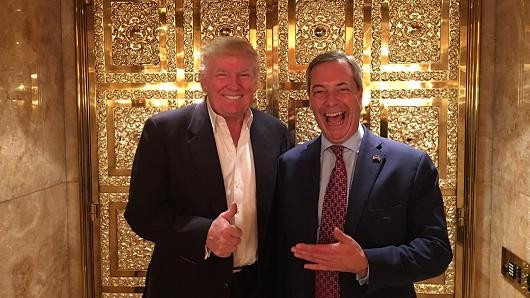 Trump To UK: Make Brexit Leader Farage Ambassador