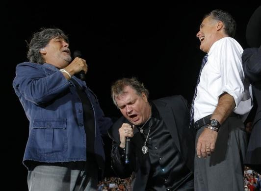 Mitt Romney, Randy Owen, Meatloaf