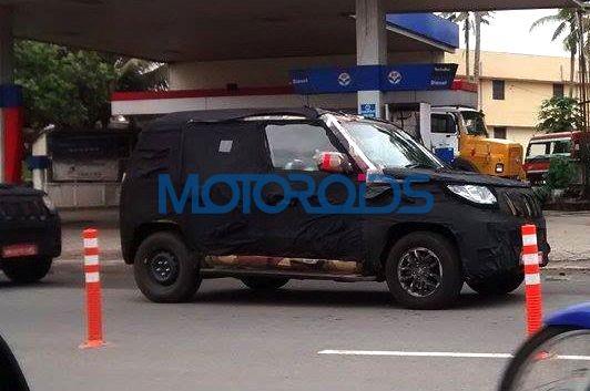 Mahindra New-Gen Bolero U301 Continues Testing, Spied Again