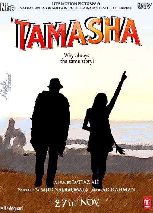 Tamashaa First Look,Tamashaa First Look Poster,Tamashaa Poster,Tamashaa,Ranbir Kapoor,Deepika Padukone,Ranbir Kapoor and Deepika Padukone,Tamashaa movie stills,Tamashaa movie pics,Tamashaa movie images,Tamashaa movie photos,Tamashaa movie pictures,Tamasha