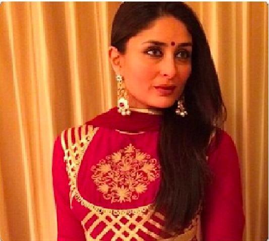Kareena Kapoor,Kareena Launched Malabar Showroom,Malabar Gold and Diamonds showroom in Doha,Malabar in Doha,Rohit Bal's costumes,Kareena dons Rohit Bal's costumes