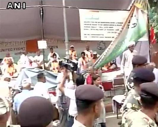 OROP Protest