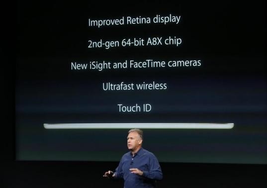 Tim Cook unveils iPad Air 2