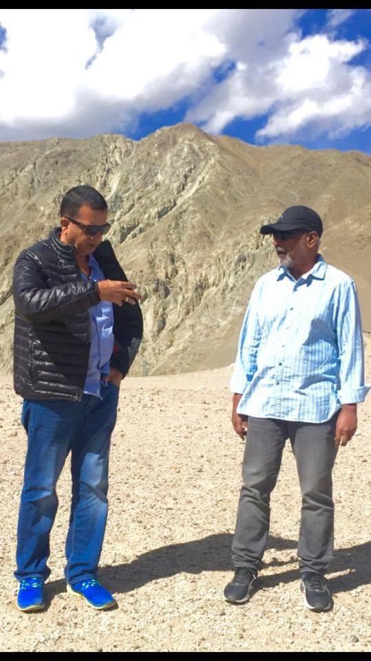 Mani Ratnam,Kaatru Veliyidai,Kaatru Veliyidai shooting,Ladakh,A.R Rahman,RJ Balaji,Shraddha Srinath,Delhi Ganesh,Ravi Varma,Karthi,Aditi Rao Hydari