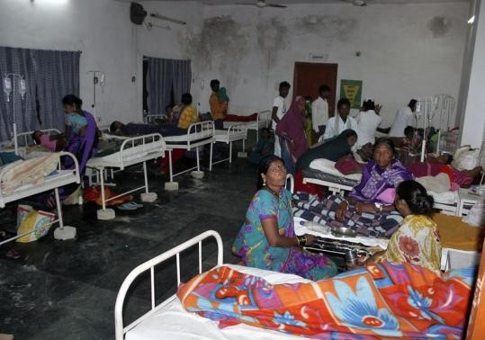 Chhattisgarh Sterilisation Surgery mess