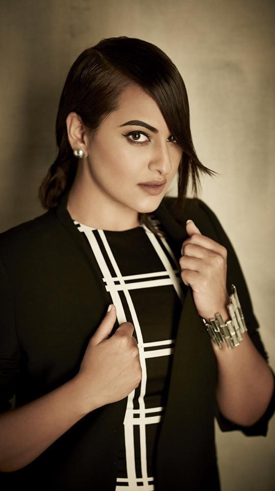 Sonakshi Sinha poses for Exhibit magazine