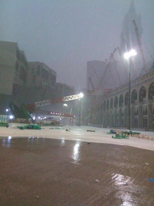 Crane collapse at Mecca Mosque,Crane collapse,Mecca Mosque