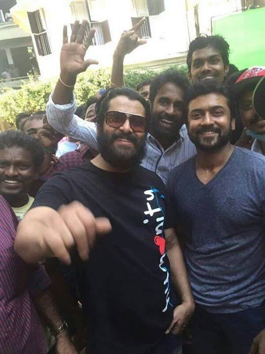 Suriya and Vikram,Suriya,Vikram,Spirit of Chennai,Suriya and Vikram shoot for Spirit of Chennai,Suriya shoot for Spirit of Chennai,Vikram shoot for Spirit of Chennai,Prabhudeva,Jayam Ravi,Jiiva,Bharath