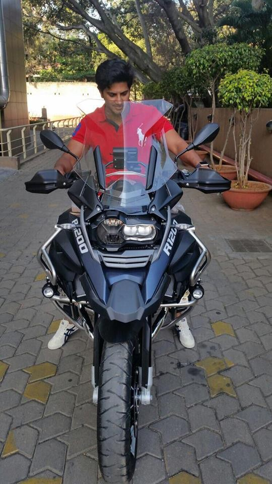 Take A Look At Dulquer Salmaan S Bmw R1200gs Adventure Photos Images Gallery 36403