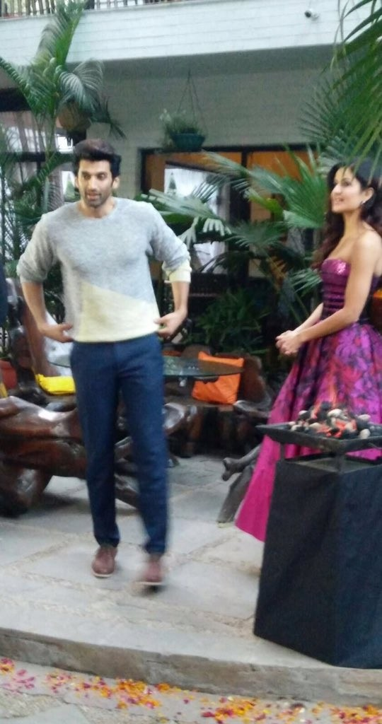 Pashmina Song Launch,Aditya Roy Kapur,Katrina Kaif,Aditya Roy Kapur at Pashmina Song Launch,Katrina Kaif at Pashmina Song Launch,Fitoor,Fitoor songs
