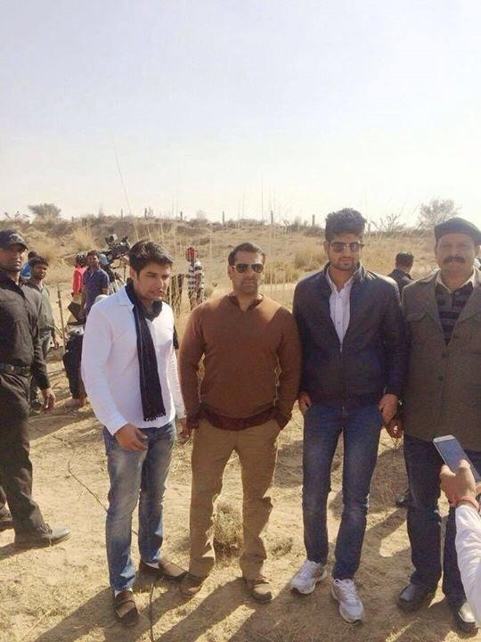 Bajrangi Bhaijaan,Salman Khan,Kareena Kapoor Khan,kabir khan,on the sets