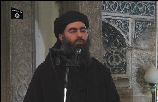Abu Bakr al-Baghdadi made his first public appearance in Mosul