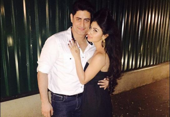 Mouni Roy celebrates her birthday with rumoured beau Mohit Raina, Arjun Bijlani and others. Pictured: Rumoured couple Mohit Raina and Mouni Roy.