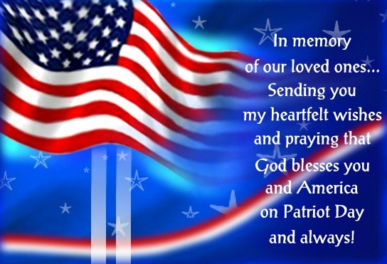 Patriot Day Greetings
