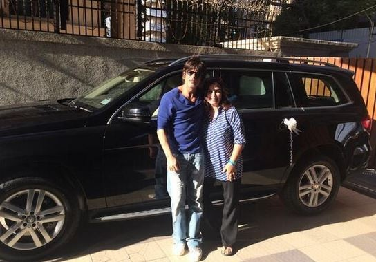 Shah Rukh Khan and Farah Khan