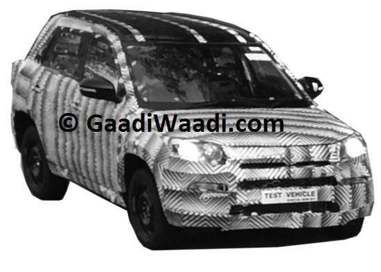 Maruti Compact SUV YBA Testing Once Again