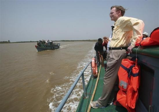 World Bank President Robert Zoellick Visit to Orissa