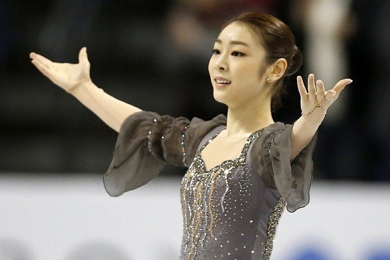 South Korean Figure Skater Yuna Kim