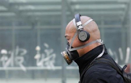 Man in a mask in China/Reuters
