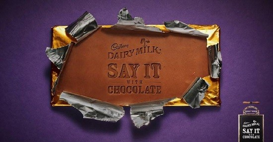 A Cadbury ad in Malaysia. The report that Cadbury chocolate contains pork has sparked outrage in the Muslim countries.