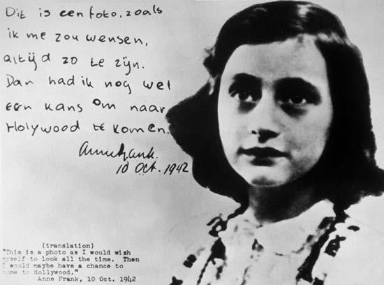 Remembering Anne Frank On Her 87th Birthday Famous Quotes