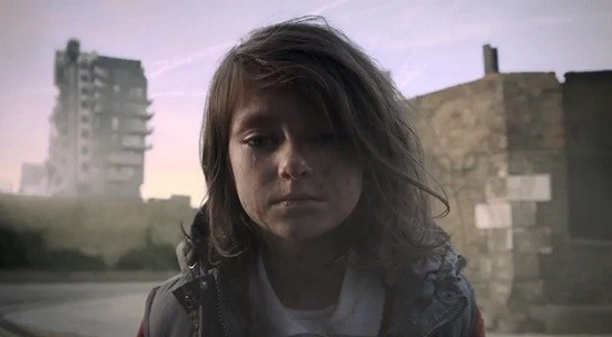 A still from 'If London Were Syria' video by Save the Children/Youtube