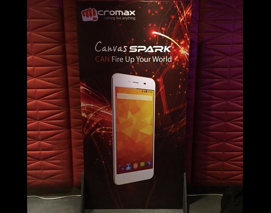Micromax Canvas Spark Officially Launched in India; Price, Specifications