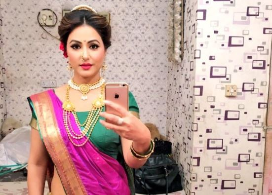 Yeh Rishta Kya Kehlata Hai makers working on Hina Khan aka Akshara's exit track?. Pictured: Hina Khan